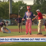 Centenarian Twins - First Pitch