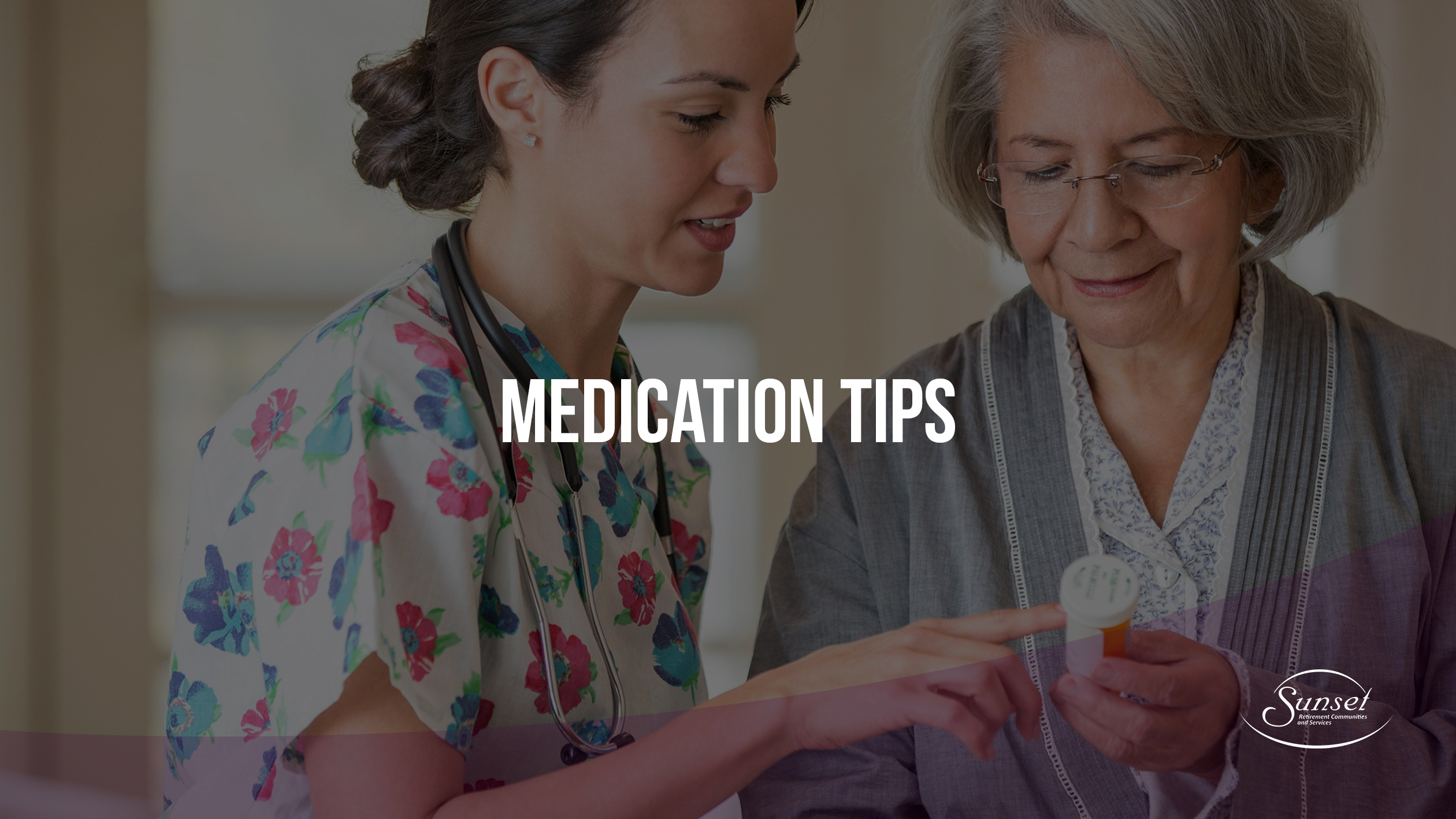 medication tips sunset communities
