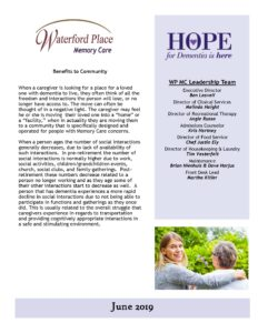 WP MC June 2019 Newsletter