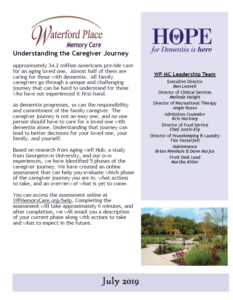 WPMC July 2019 Newsletter