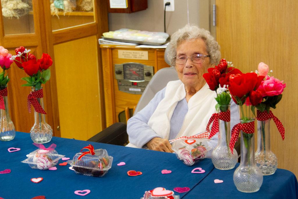 Brookcrest Valentines Day celebrations