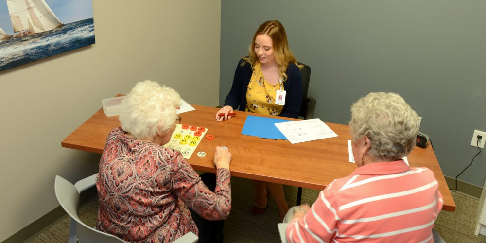 seniors in a saido learning session